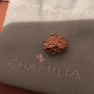 Chamilla Evening Bag Rose Gold Charm